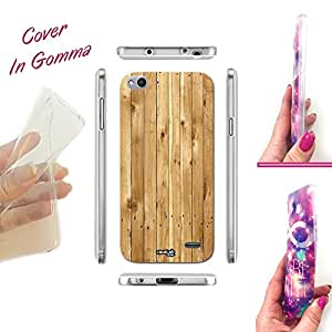 Carcasa Case Crystal Thirty efecto madera para Vodafone Smart Ultra 6