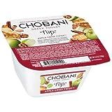 Chobani Apple Crisp Twist Flip Greek Yogurt, 5.3 Ounce - 12 per case.