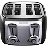 4 slice toasteroven - Black & Decker 4-Slice Toaster, Bagel and frozen functions alter the length of toasting