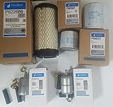 kubota bx fuel filter - Kubota BX Filter Maintenance Kit BX23S BX1880 BX2380 (Donaldson Filters)