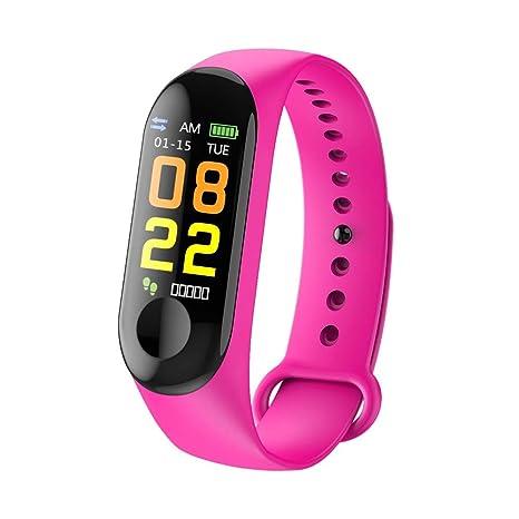 Coloré(TM Montre Connectée, Bluetooth Smartwatch Montre Sport Podomètre,Sommeil,Calories pour