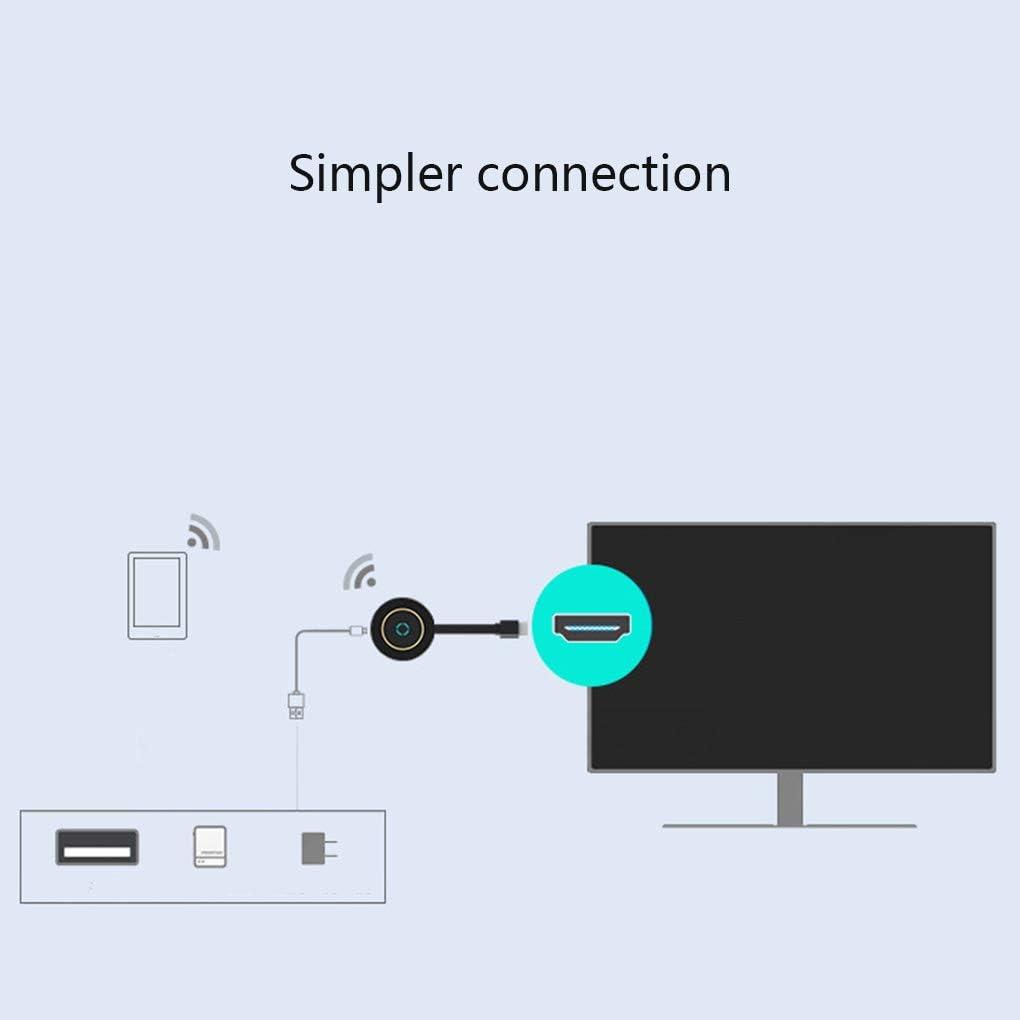 TV Stick 5G Video WiFi Display Receptor de Espejo, Receptor de TV ...