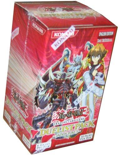 YuGiOh GX Card Game Duelist Pack Booster Box Jaden Yuki 3 (30 Packs)