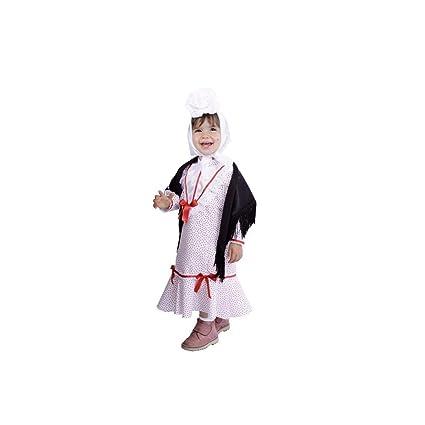 Disfraz de chulapa niña - 18 meses: Amazon.es: Juguetes y juegos