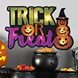 Halloween Trick Or Treat Lighted Shimmer Ornament Halloween Decoration