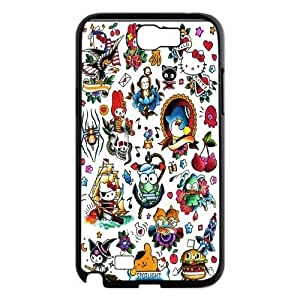FOR Samsung Galaxy Note 2 Case -(DXJ PHONE CASE)-Keep Smile - Hello Kitty-PATTERN 3