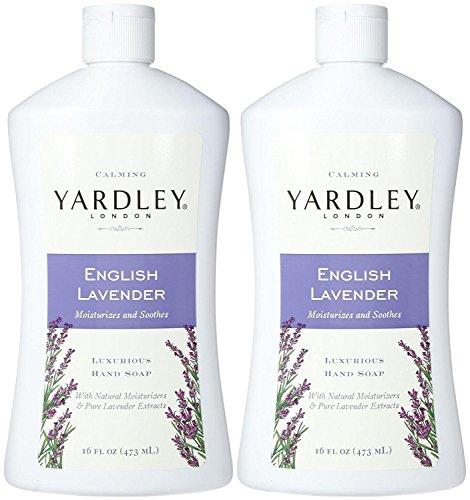 (Yardley London Liquid Hand Soap - English Lavender - 16 oz - 2 pk)