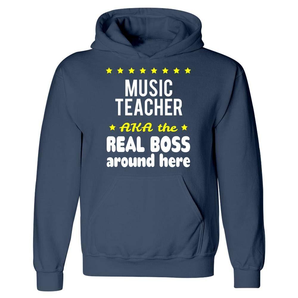 Hoodie Music Teacher AKA The Real Boss Around Here