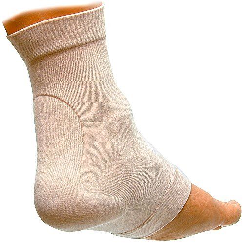 Achilles Gel Heel Protection Cushion Sleeve Size SM/MD - Fits Either Foot by ''POLY GEL, LLC''