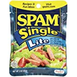 SPAM Single Lite 3 oz. Pouches (Pack of 24)