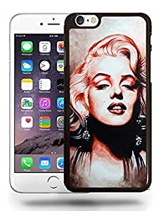Movie Vintage Film Star Actress Marilyn Monroe Sketch Art Phone Case Cover Designs for iPhone 6 Plus