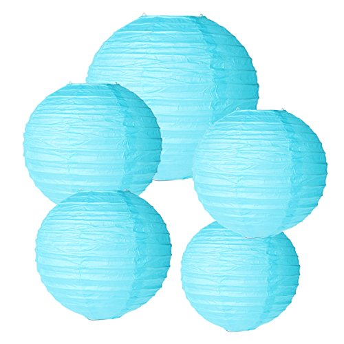 8inch-Paper-Lantern-Colorful-Round-Paper-Lamps-Set-for-Wedding-Birthday-Party-Garden-Decoration-blue-Pack-of-5