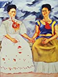 Posters: Frida Kahlo Poster Art Print - The Two Fridas (32 x 24 inches)