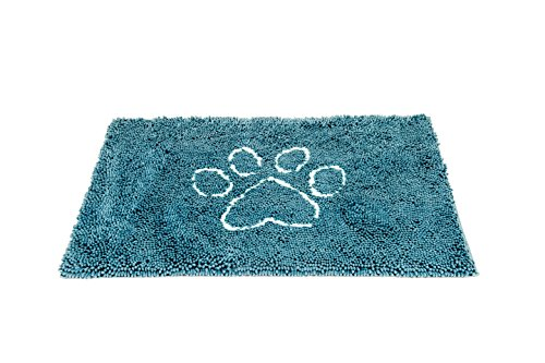 - Dog Gone Smart Pet Products Dirty Dog Doormat, Medium, Pacific Blue