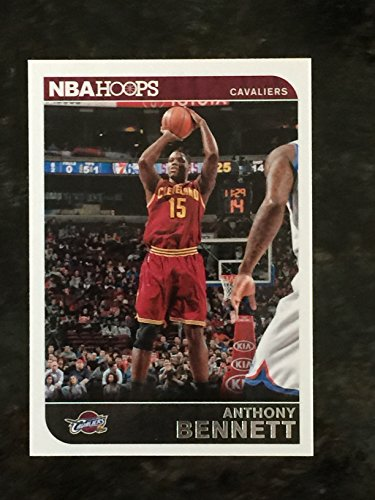 2014-15 Panini Hoops #85 Anthony Bennett Trading Card in a Protective Case With a Small Stand - Cleveland...