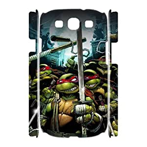 Printed Quotes Phone Case Teenage Mutant Ninja Turtles For Samsung Galaxy S3 I9300 Q5A2112391