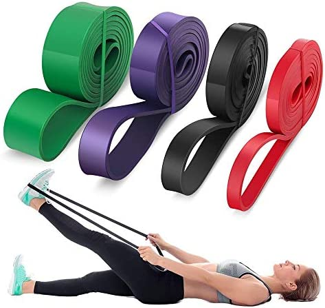 Latex Pull Up Assist Band Streching Loop Resistance Band Gym Yoga Fitness Band