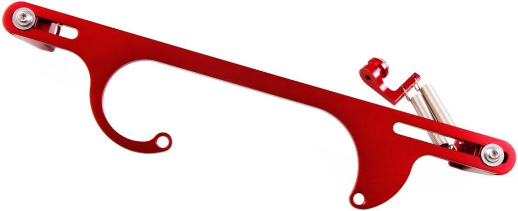 Fansport Throttle Cable Bracket Throttle Bracket Universal Aluminum Alloy Carburetor Bracket