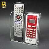 PINMEI Remote Control Holder Clear Acrylic Organizer Box