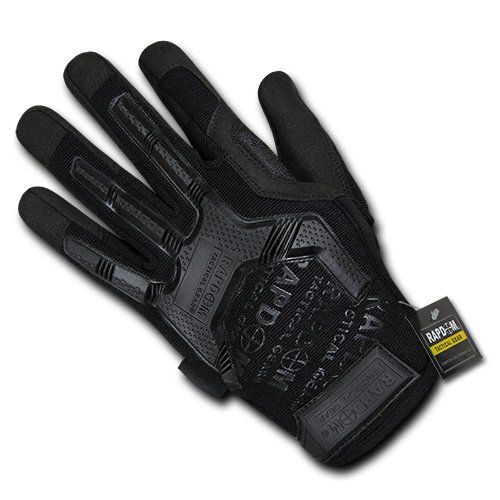 RAPDOM Tactical Impact Protection Gloves, Black, Large by RAPDOM