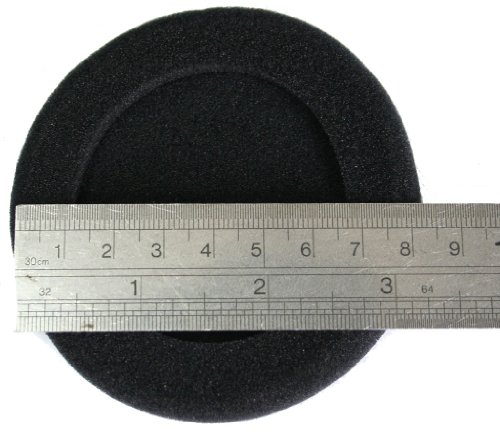 JNTworld (Diameter: 80mm 3.15 Inch) Replacement Earpads earfaom for Most Professional Over Ear Earphone