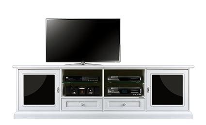 Mobile porta Tv L201xH60xP40 cm con porte e cassetti molto spazioso ...