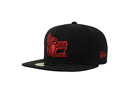 New Era 59Fifty Hat Tijuana Xolos TJ Caliente Soccer MX League Prehispanic  Black Cap (6 3a1ddf9eb68