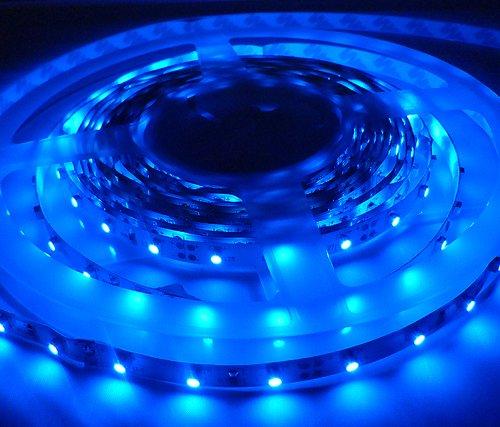 24v led strip lights in blue 5 metre led strips 300 leds 24 24v led strip lights in blue 5 metre led strips 300 leds aloadofball Gallery