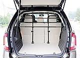 Cheap go2buy Adjustable Pet Vehicle Travel Car Back Seat Dog Barrier Black
