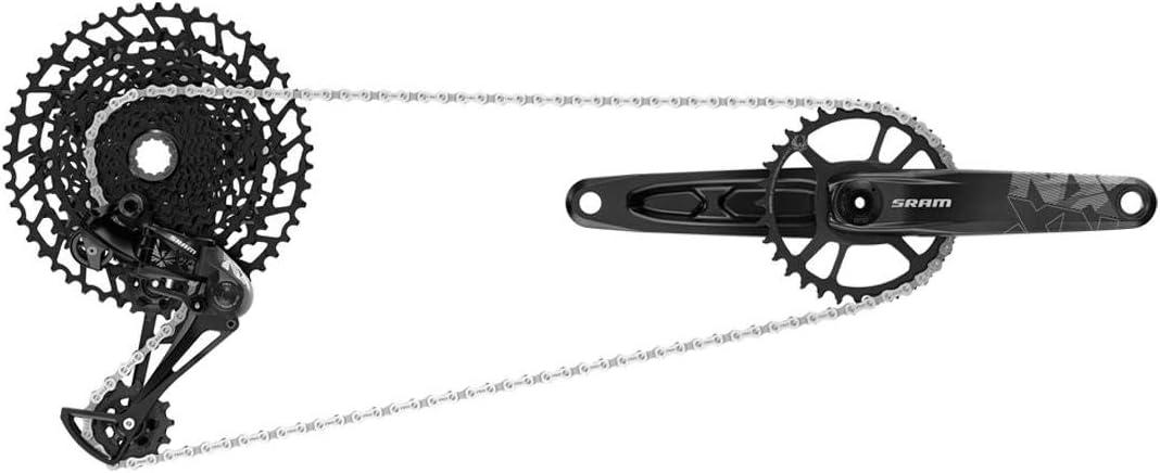 SRAM Nx Eagle Groupset (Rear Der, Trigger Shifter W Clamp, Crankset Dub W Dm 32t X-sync Chainring, Chain 126 Links 12s,Cassette Xg-1230 11-50t, Chaingap Gauge)