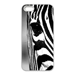 Jumphigh Animal Face IPhone 5,5S Cases Zebra Protective For Girls, Case For Iphone 5s For Women, [White]