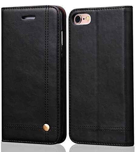SINIANL iPhone Leather Wallet Kikstand