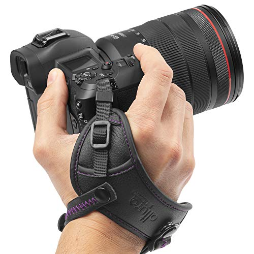 Camera Hand Strap - Rapid Fire Secure Grip Padded Wrist Strap Stabilizer by Altura Photo for DSLR and Mirrorless Cameras ()
