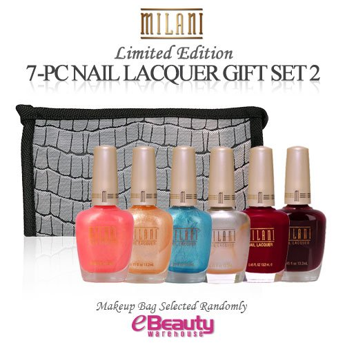 Milani Nail Polish (MILANI 7PC GIFT SET Nail Lacquer (SET2))