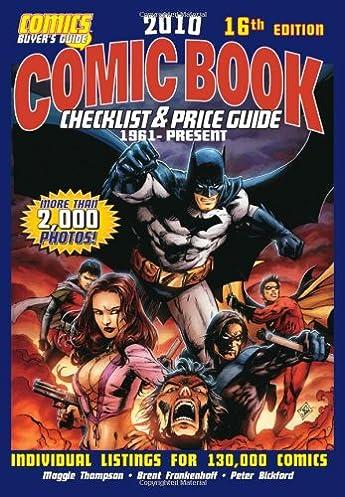 2010 comic book checklist price guide comic book checklist and rh amazon com overstreet price guide 2017 online overstreet price guide 2017