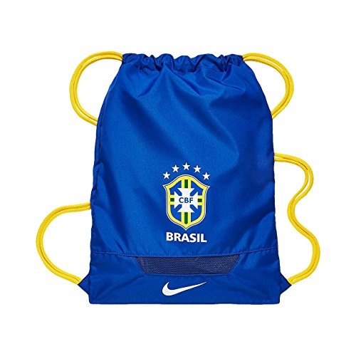 Cheap Nike Unisex Adult CBF Brazil Allegiance Gymsack Blue/Yellow