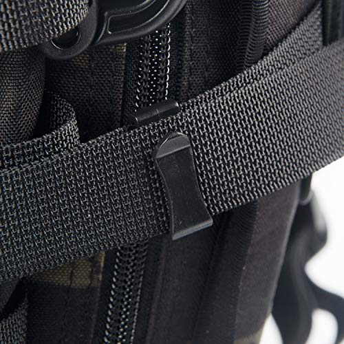 107fff23cc12 DYZD Multi-Size Webbing Ending Clip Quick Slip Keeper Connect Buckle ...