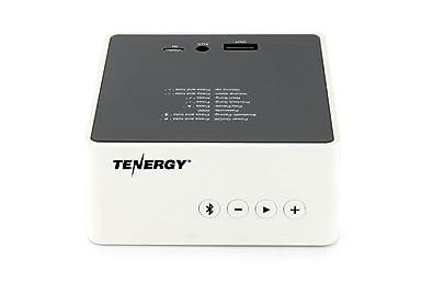 Amazon.com: Tenergy Music PowerBox Bluetooth Speaker & Built-in ...