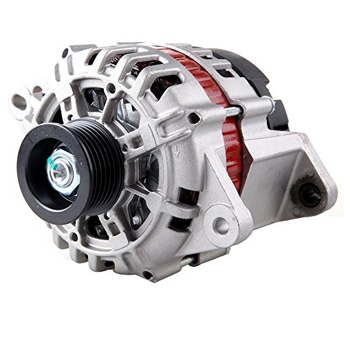 Alternators ECCPP ADR0337 8483 for Chevrolet Aveo Aveo5 Pontiac Wave Suzuki Swift 1.6L 2005 2006 2007 2008 85A/V CW 6-Groove Pulley IR/IF