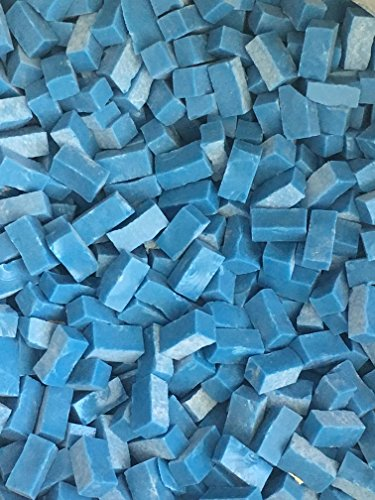 - Smalti Loose Tile - 1/4 lb Bag - Caribbean Blue - Hakatai Glass Tile