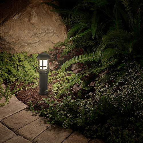 LEONLITE 3W LED Landscape Light, 18W Eqv, 12V Low Voltage, Waterproof, Aluminum Housing with Ground Stake, ETL Listed Outdoor Pathway Garden Yard Patio Lamp, 4000K Cool White, Pack of 12 by LEONLITE (Image #5)