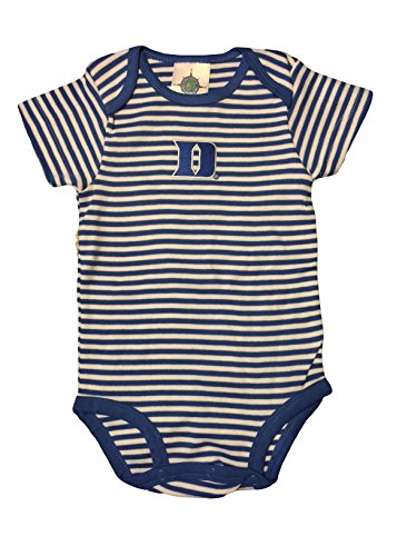 Duke Blue Devils NCAA Striped Baby Bodysuit Onesie