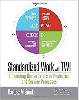 Amazon the 7 kata toyota kata twi and lean training standardized work with twi eliminating human errors in production and service processes fandeluxe Gallery