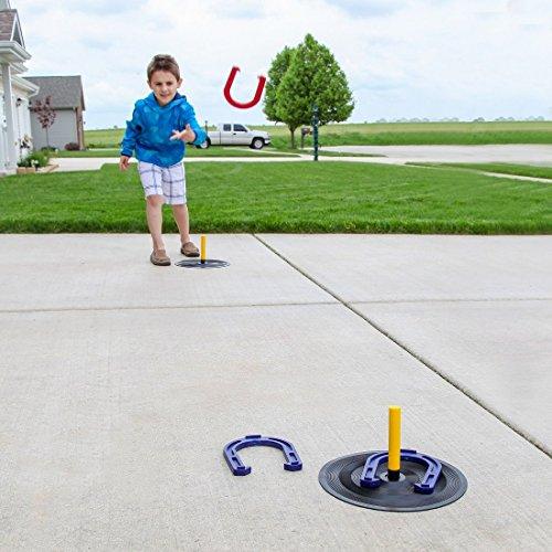 Home-X Indoor Outdoor Horseshoe Game