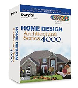 Punch home design architectural series 4000 v12 old version for Punch home design architectural series