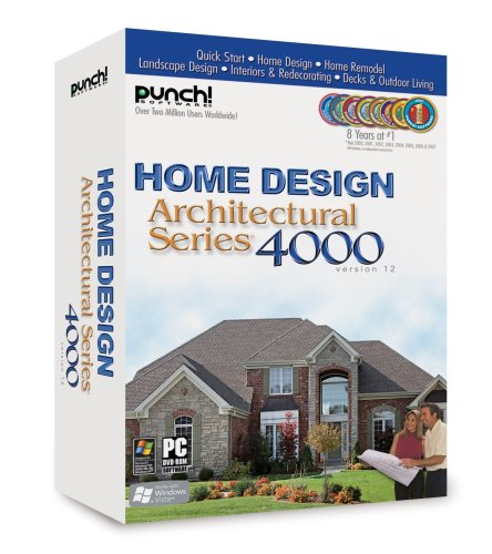 Punch Home Design Architectural Series 4000 V12 Old Version