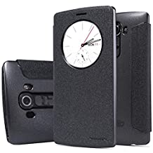 Nillkin LG G4 Sparkle Leather Case-Retail Packaging-Black