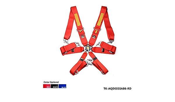 Nuevo, 6 cantos Racing asiento cinturón/con FIA aprobado Expiry ...