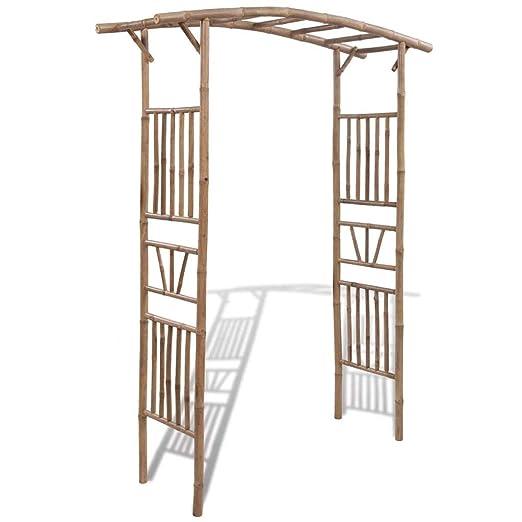Daonanba Classic - Pérgola de bambú: Amazon.es: Jardín