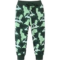Hstyle Pantalon Chandal Niño Pantalones niños de algodón1-7 Años